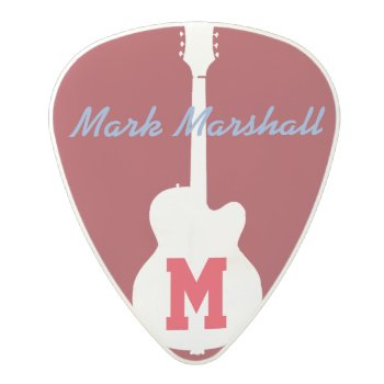 Guitar Picks Personalized by mixedworld at Zazzle