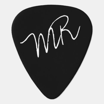Guitar-picks Personalized For The Guitarman Guitar Pick by mixedworld at Zazzle