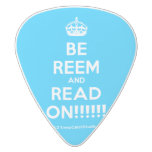 [Crown] be reem and read on!!!!!!  Guitar Picks White Delrin Guitar Pick