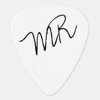 guitar-picks with name for the guitarman guitar pick