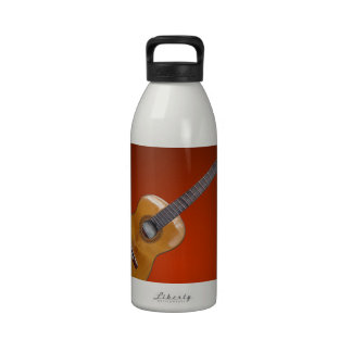 GUITAR PLAY BACKGROUND PRODUCTS DRINKING BOTTLES
