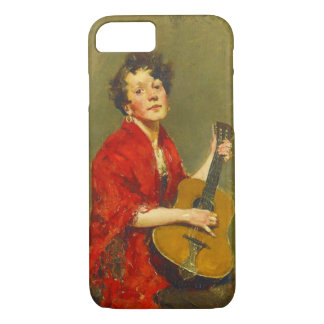 Guitar Player 1886 iPhone 7 Case