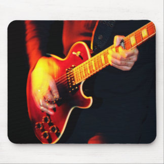 Guitar Player 3 Mouse Pad
