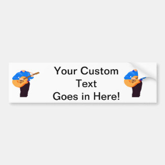 guitar player acoustic partial man graphic.png bumper sticker