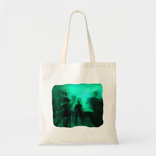 Guitar Player and Dancers Zoomed Aqua Tote Bag