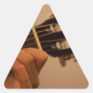 guitar player autocollant