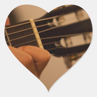 guitar player autocollants