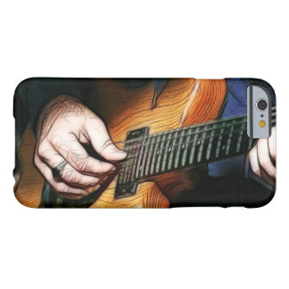 Guitar player barely there iPhone 6 case