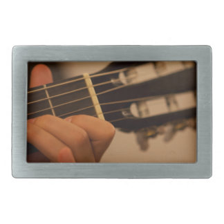 guitar player belt buckle
