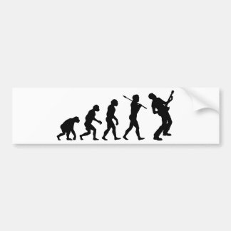 Guitar Player Bumper Sticker