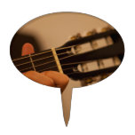 guitar player cake toppers