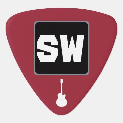 guitar_player custom monogram guitar pick