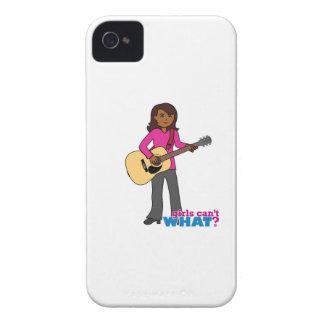 Guitar Player - Dark iPhone 4 Cover