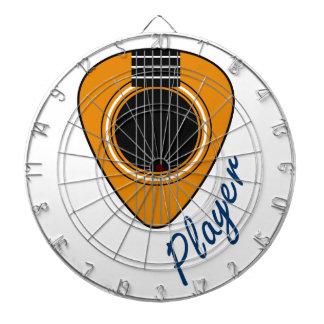 Guitar Player Dart Board