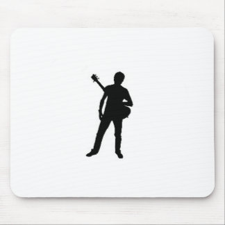 """""""Guitar Player"""" design gifts and products Mouse Pad"""