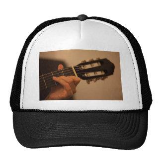 guitar player trucker hat