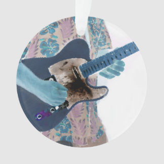 guitar player invert colors neat musician design