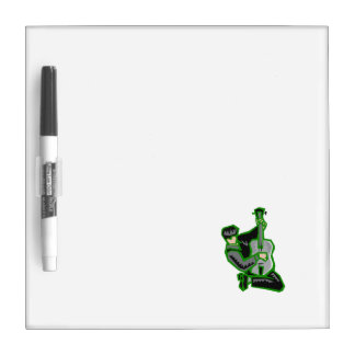guitar player kneeling abstract green.png dry erase board