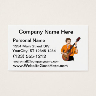 guitar player male semi hollow orange shirt.png business card