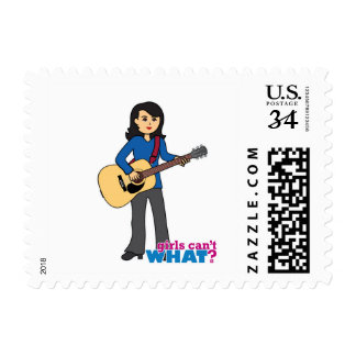 Guitar Player - Medium Postage