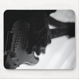 Guitar Player Mouse Pad