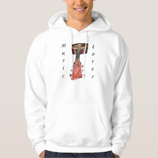 GUITAR PLAYER Music-Lover Hooded Jacket