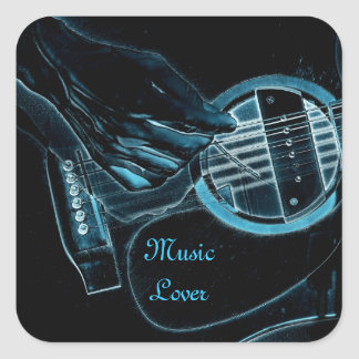 Guitar Player Music Lover's Stickers