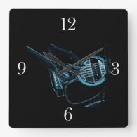 Guitar Player Music Lover's Wall   Clock