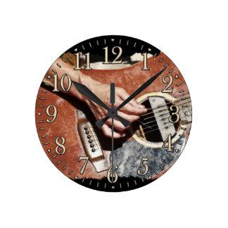 Music Themed Wall Clocks Zazzle