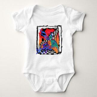 Guitar Player Musician Colorful Pop Art Style T Shirt