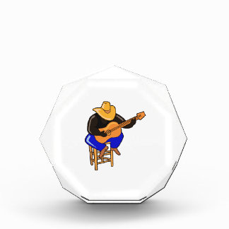 guitar player on stool head down dark skin.png acrylic award