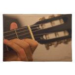 guitar player place mat