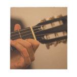 guitar player scratch pads