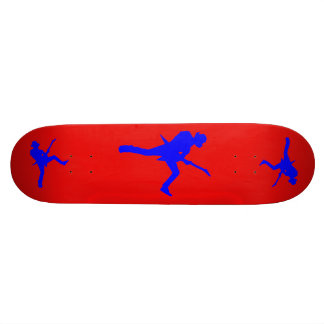 Guitar Player Silhouette Skateboard