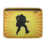 Guitar Player Silhouette Sleeve For MacBook Air