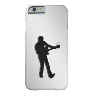 Guitar Player Silver Barely There iPhone 6 Case