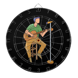 guitar player sitting abstract mic.png dartboard with darts