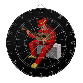 guitar player sitting on amp blues red.png dart boards