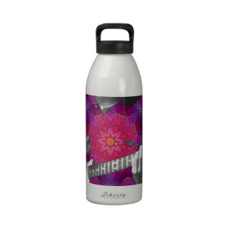Guitar Player Water Bottles