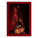 Guitar Player's Christmas Card
