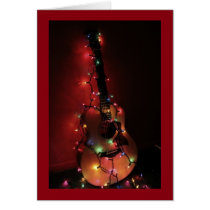 Guitar Player's Christmas Card