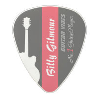 guitar player's create your own polycarbonate guitar pick