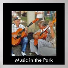 Guitar Players in Parque Bolivar