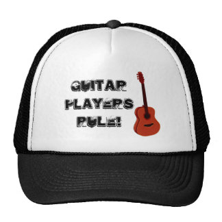 Guitar Players Rule Truckers Hat