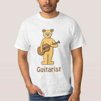 Guitar Playing Bear. T-shirt