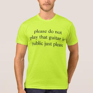 guitar plea T-Shirt