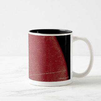 Guitar Plectrum Two-Tone Coffee Mug