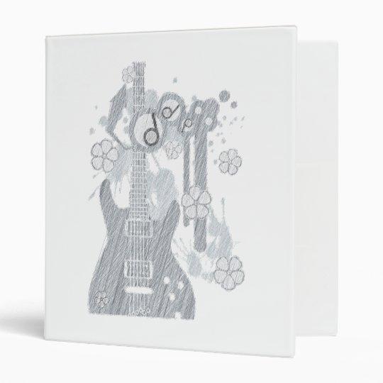 GUITAR-POP TUNES 3 RING BINDER