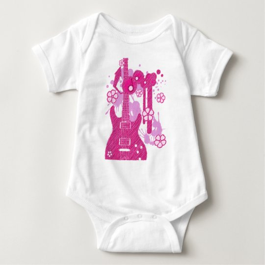 GUITAR-POP TUNES BABY BODYSUIT