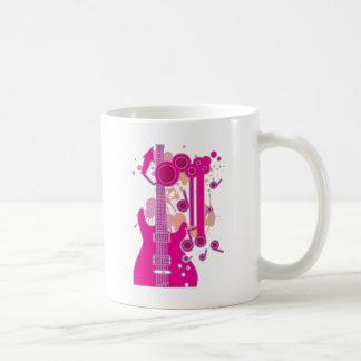 GUITAR-POP TUNES COFFEE MUG